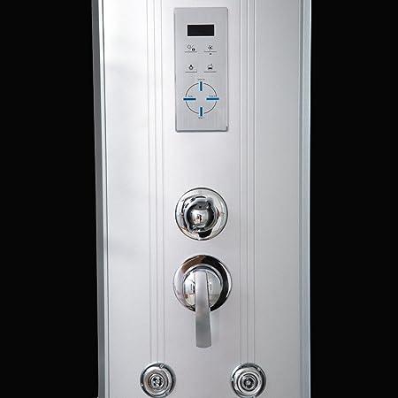 Home Deluxe Cabina de ducha Elegance 90 x 90: Amazon.es: Bricolaje ...