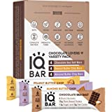 IQBAR Brain + Body Protein Bars, Chocolate Lovers Variety, Keto, Vegan, Paleo Friendly, Low Sugar, Low Net Carb, High…