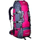 Egmy Hot! 2016 80L Waterproof Sports Camping Hiking Backpack Luggage Rucksack Bag