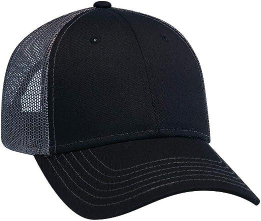 Hat Foam Mesh Back Baseball Cap Snapback Curved Plain Blank Adjustable Trucker