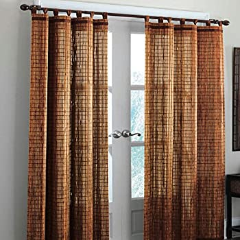 Bamboo Curtain Panels With Grommets