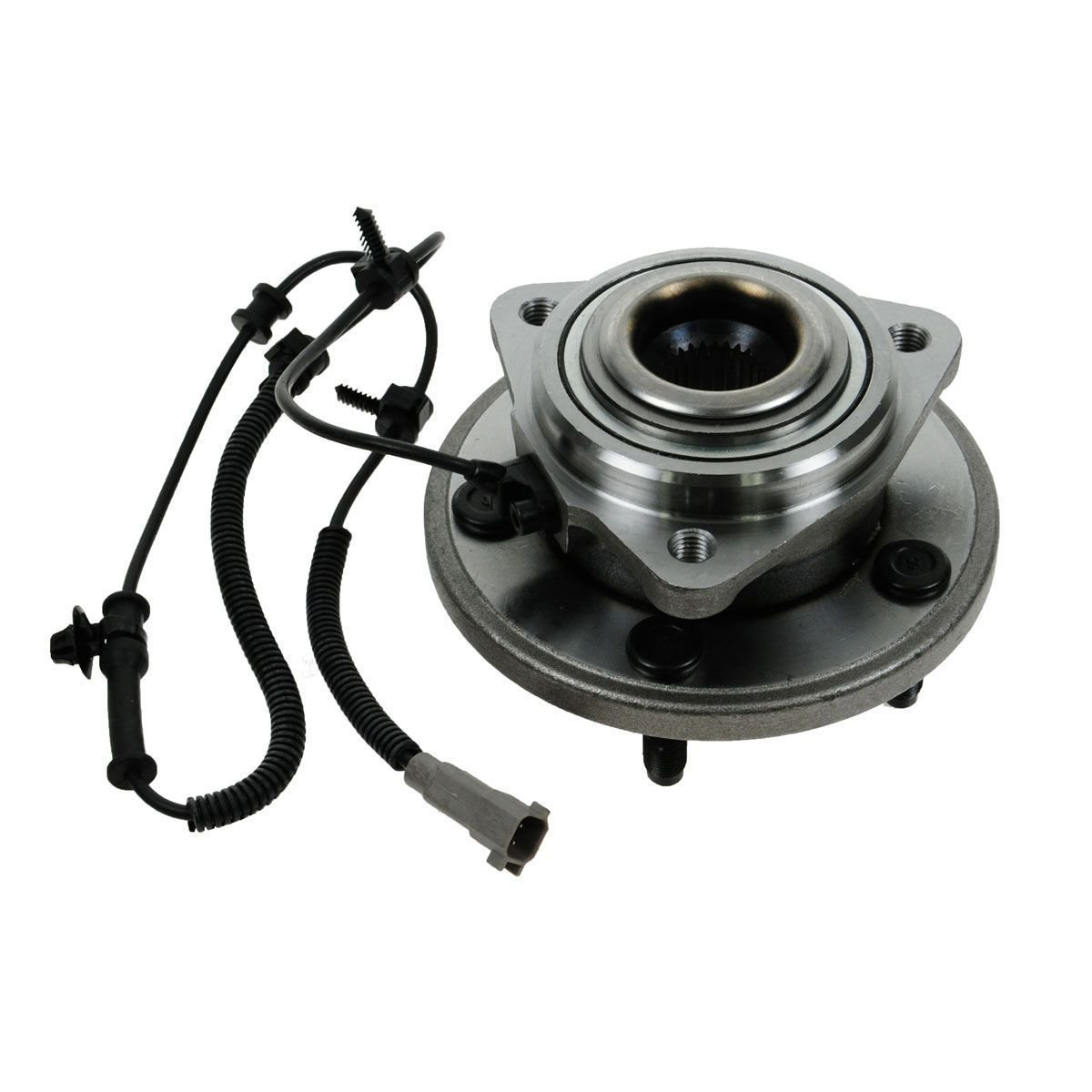 Detroit Axle - New Front Wheel Hub and Bearing Assembly Fits 2006 2007 2008 2009 2010 Jeep Commander and 2005-2010 Grand Cherokee With ABS Wire 513234