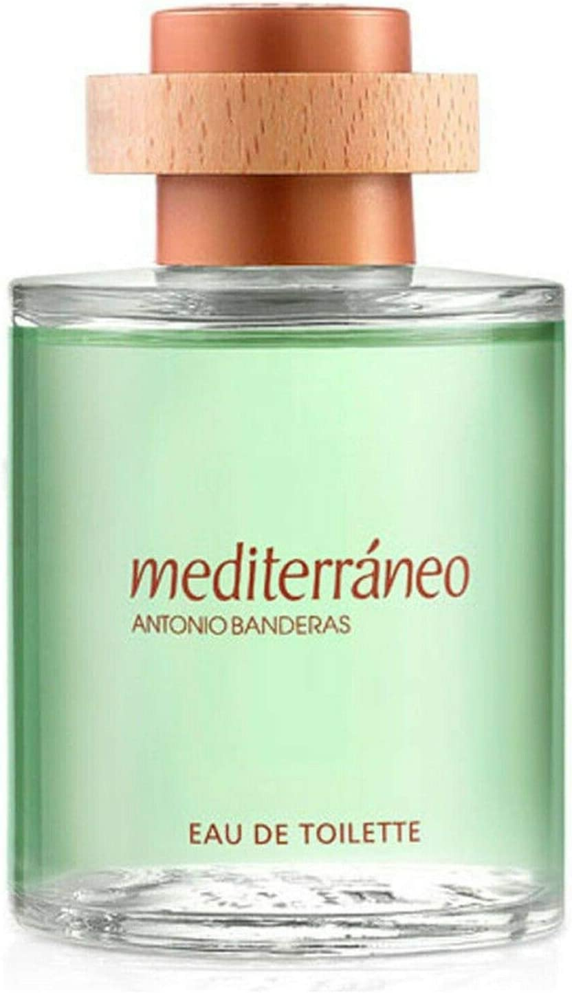 Antonio Banderas Mediterraneo Eau de Toilette 100 Mililliter Sin Caja