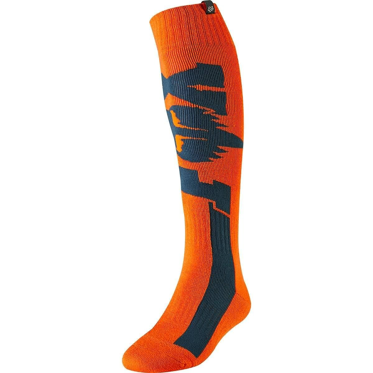 Fox Racing 2019 FRI Thick Socks - Cota (SMALL) (ORANGE)