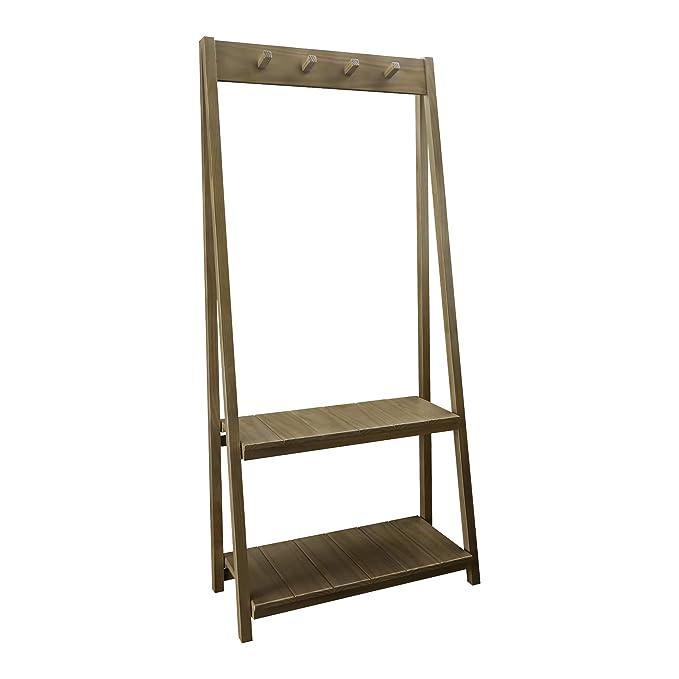 Amazon.com: Casual Home 317-827 Essex Folding Two Shelves ...
