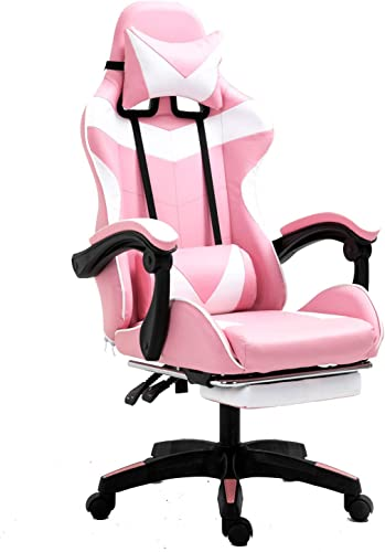 Sisilia Cute Warrior Racing Style Gaming Chair | Reclining High Back