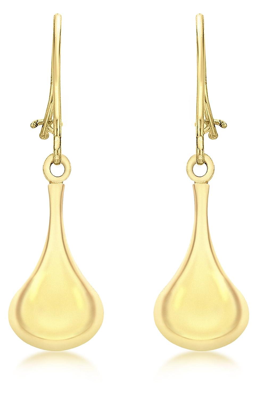 Carissima Gold - Boucles d'Oreilles Pendantes - Femme - Or Jaune 375/1000 (9 Cts) 0.846 Gr