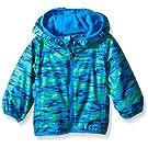 Columbia Baby Boys' Mini Pixel Grabber II Wind Jacket, Hyper Blue Camo, 3-6 Months