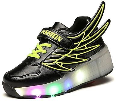 | 24XOmx55S99 Girl&Boy's LED Light Wheel Roller