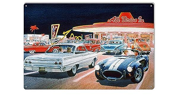 BMW Vintage Reproduction Garage Sign