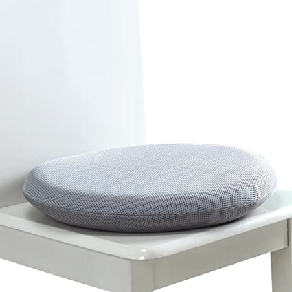 M MOCHOHOME Round Memory Foam Chair/Seat Cushion Pad With Mesh Cover    16.5u0026quot;
