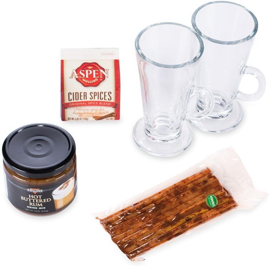 Bebida caliente invierno Sampler Pack – tazas, mezclas, y ...