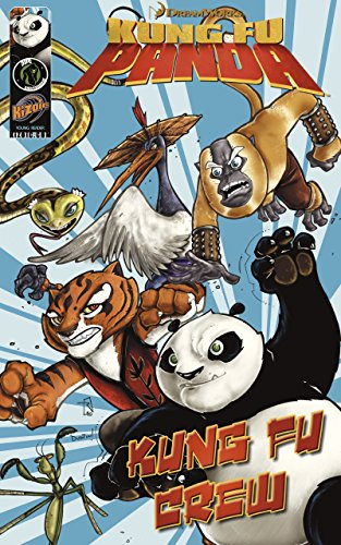 Kung Fu Panda: Kung Fu Crew (with panel zoom): 1 (DreamWorks Graphic Novels) Zoom Type