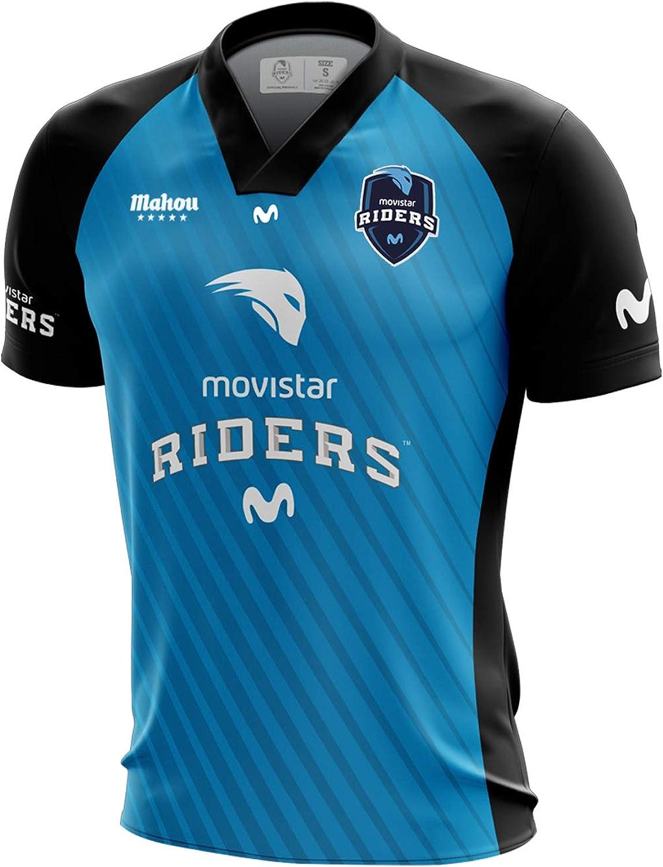 Movistar Riders Oficial 2019, Camiseta para Hombre: Amazon.es: Ropa y accesorios