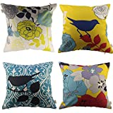 Decorative Pillow Cover - HOSL Decorative Pillow Cover Case Pack of 4 About 18