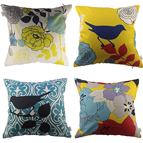HOSL Decorative Pillow Cover Flower product image
