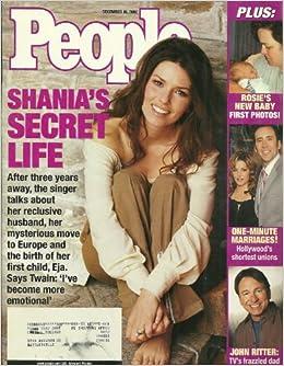 shania twain people magazine dec 16 2002