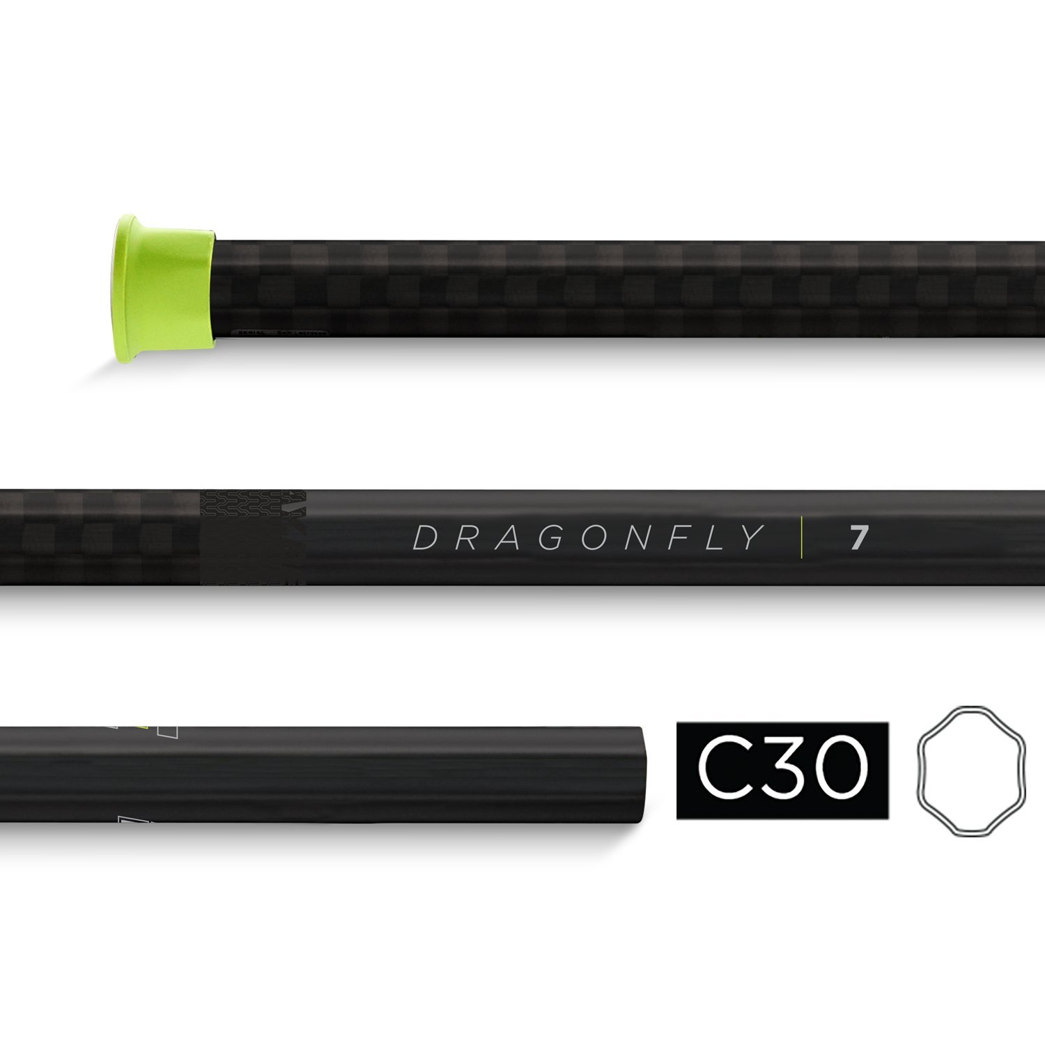 Epoch Dragonfly Gen. 7 Attack Lacrosse Shaft - C30-IQ5 by Epoch Lacrosse