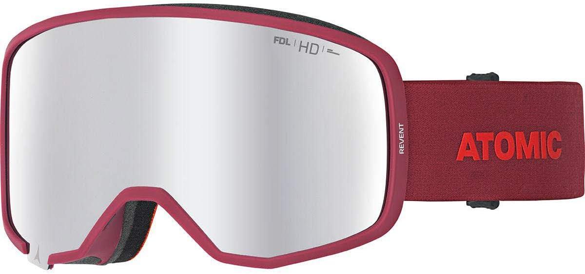 Atomic Revent HD Gafas de esquí, Unisex Adulto, Rojo (Red), Talla única: Amazon.es: Deportes y aire libre