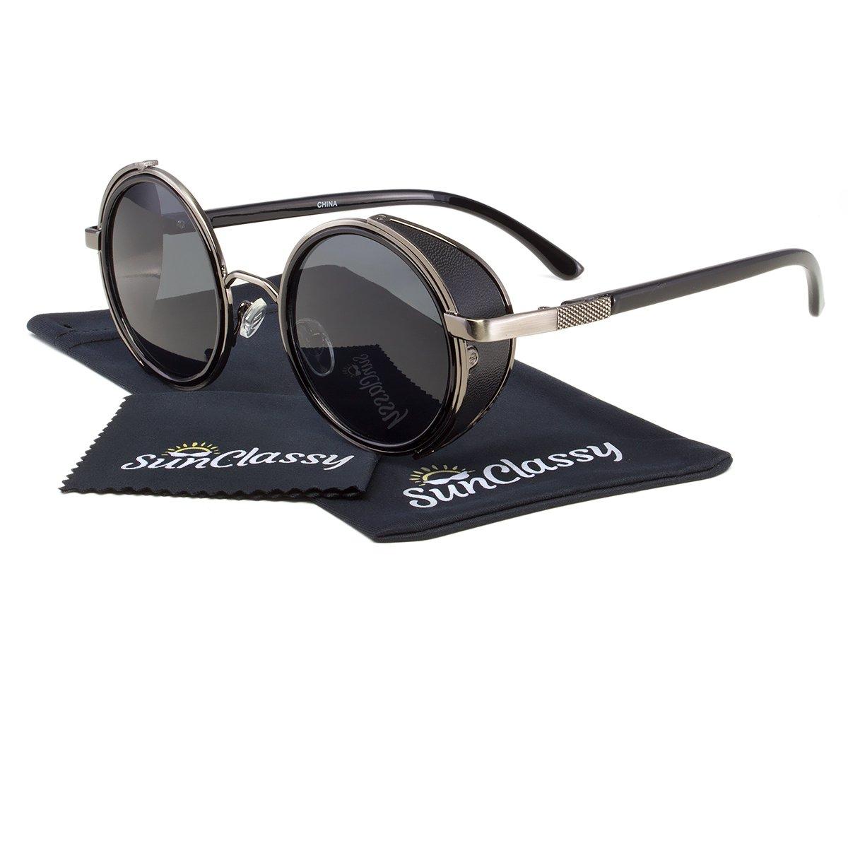 01842f5485 Sunclassy UV Protected Oval Unisex Sunglasses - (52mm