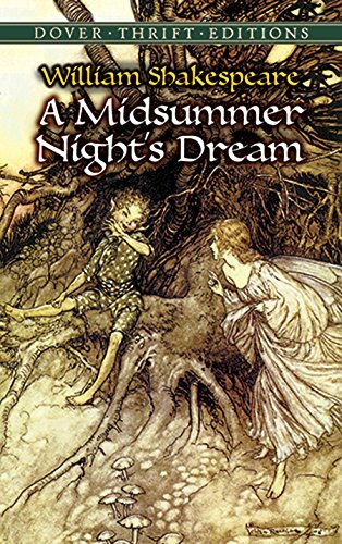 A Midsummer Nights Dream Dover Thrift Editions By Shakespeare William