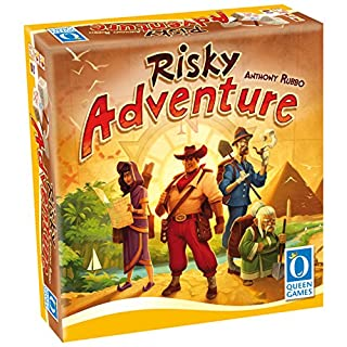 Risky Adventure Family Dice Board Game