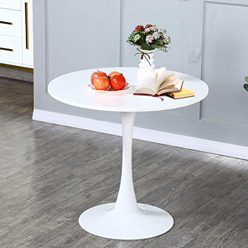 White Dining Table,Modern Tulip Dining Room Table