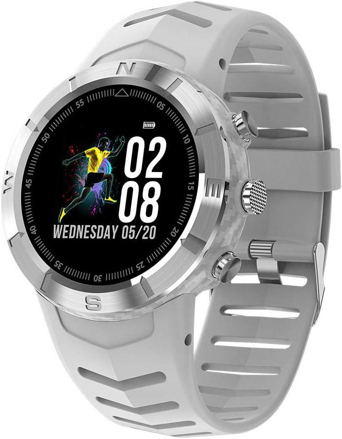Sunlera Pantalla táctil Ronda de Reloj Inteligente IP67 a Prueba de Agua de frecuencia Cardiaca SmartWatch Hombres al Aire Libre podómetro SmartWatch