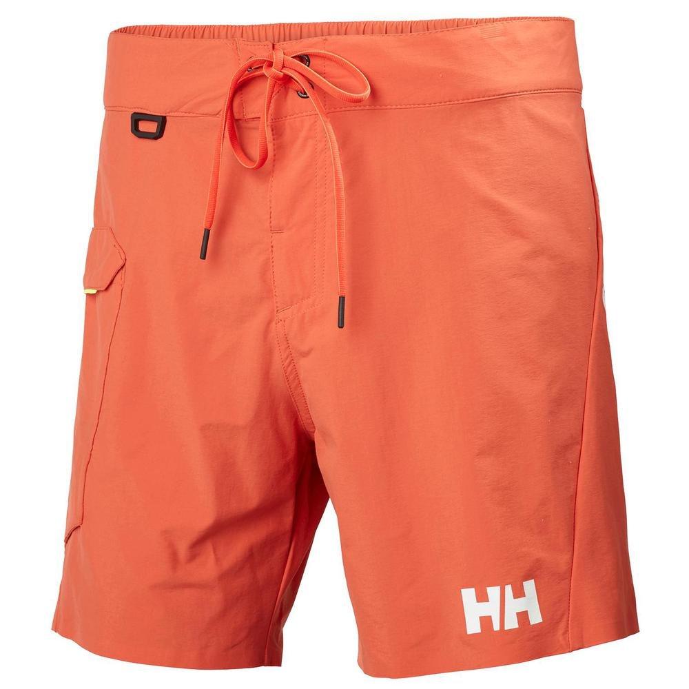 TALLA 34. Helly Hansen HP Shore Trunk - Bañador, Hombre, Rojo(118 Paprika)