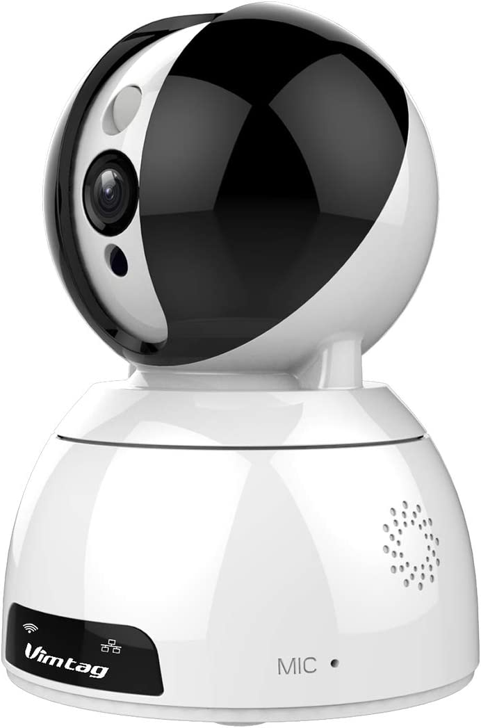 Telecamera Da Interno 1080p 4MP, Cam Vimtag 2k Con Rilevamento Del Movimento. Telecamera Dome Smart Home Con Audio Bidirezionale E Visione Notturna, Videocamera Per Cani Baby/Animali Domestici