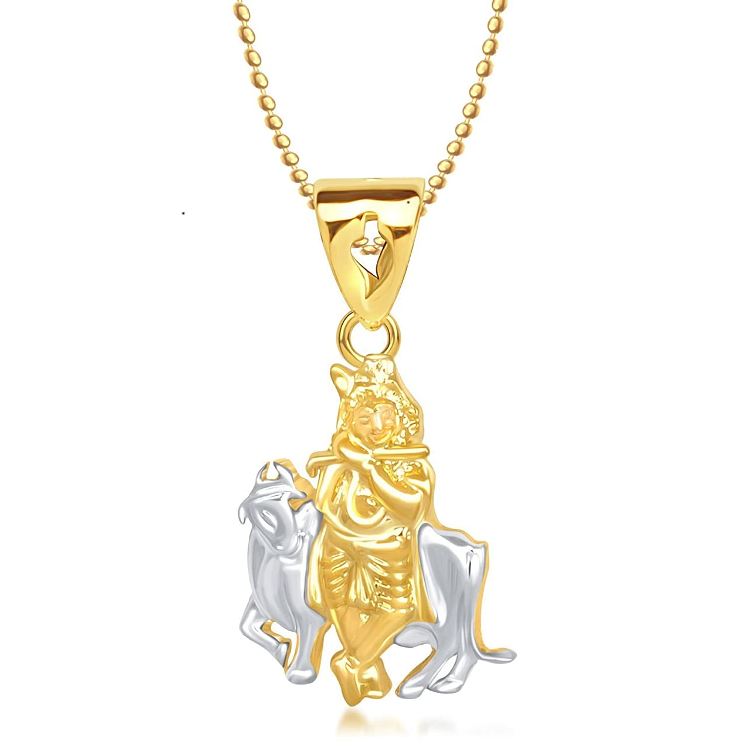 pendant om with gp plated ganpati jewom lockets gold gmeenefff diamond god men chain and in american women for