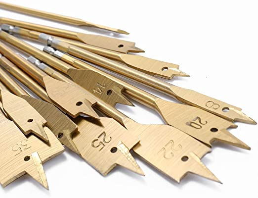 Festnight 13pcs m/èches plates de pelle mis en m/étal de kit de peu doutil de menuiserie de bois outils doutil