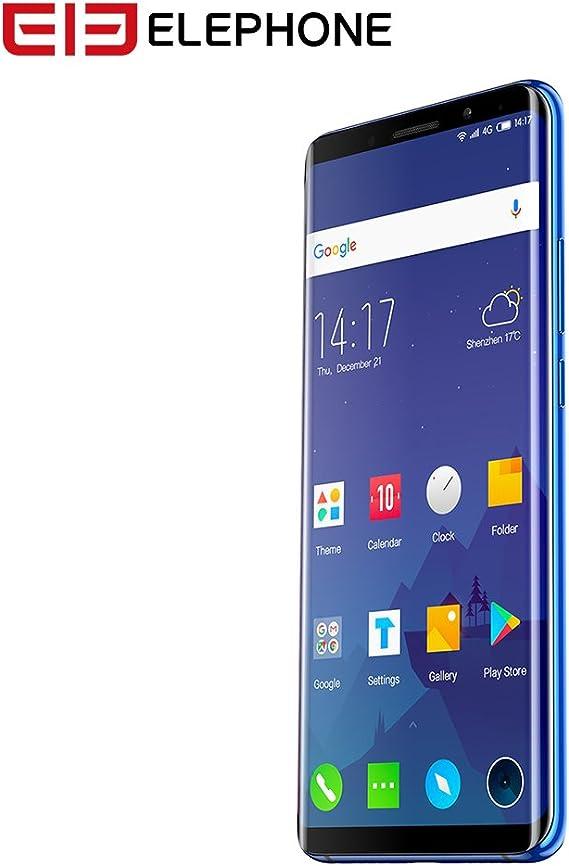 Elephone U Pro Elephone 4G Smartphone Android 8.0 13MP+13MP Cámara ...