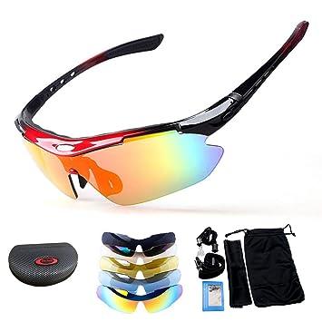 Men Polarized Cycling Glasses Bike MTB Sports Sunglasses Goggles UV400 Lens
