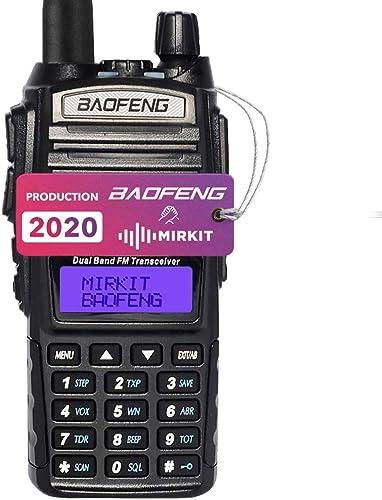 Baofeng Radio UV-82 MK3 2019 5W 2800 mAh Li-ion Battery Mirkit Edition and Lanyard Mirkit Ham Radio Operator, Walkie Talkies Dual Band Ham Two Way Radios