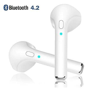 Zpower Wireless Bluetooth, Auriculares intraurales estéreo, Auriculares inalámbricos cancelación de Ruido con micrófono Integrado