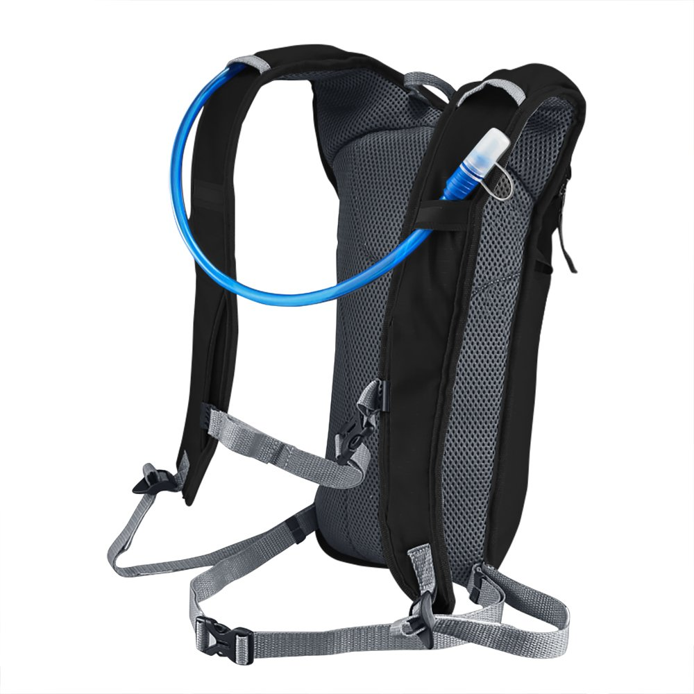 Amazon.com : KUYOU Hydration Pack, Ultra Lightweight Water Backpack Includes BPA Free Water Bladder for Running Hiking Riding Camping Cycling Climbing ...