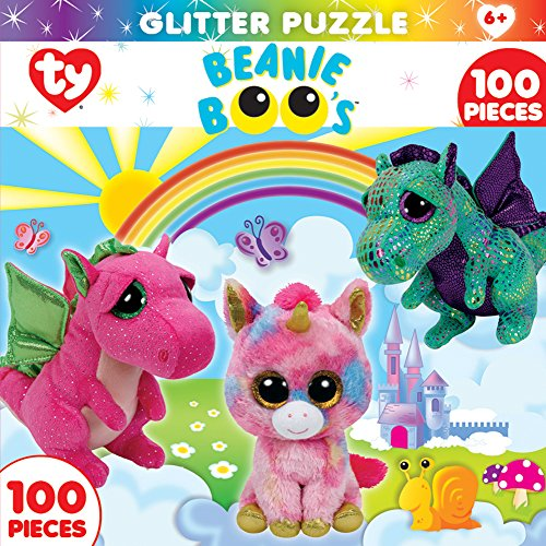 MasterPieces Beanie Boo Glitter Fairytale Club Puzzle (100 Piece)