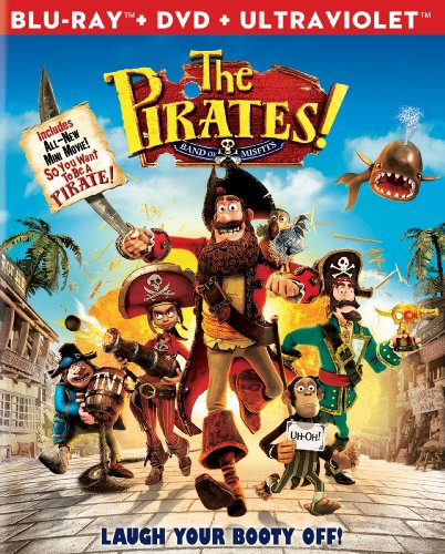 The Pirates! Band of Misfits (Two-Disc Blu-ray/DVD - Rays The Blue Band