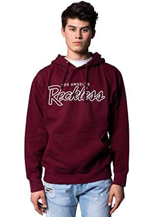 79efeff1 Young and Reckless - OG Reckless Hoodie - Burgundy - 2X - Mens - Tops -