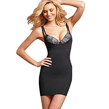3a8ec13dbb Image Unavailable. Image not available for. Color  Maidenform Shapewear  Wear Your Own Bra Firm Control Full Slip ...