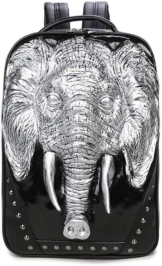 YTTY - Mochila de Silicona 3D para Hombre, diseño de Elefante ...