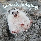 img - for Adorable Hedgehogs Mini 2018: 16 Month Calendar Includes September 2017 Through December 2018 book / textbook / text book