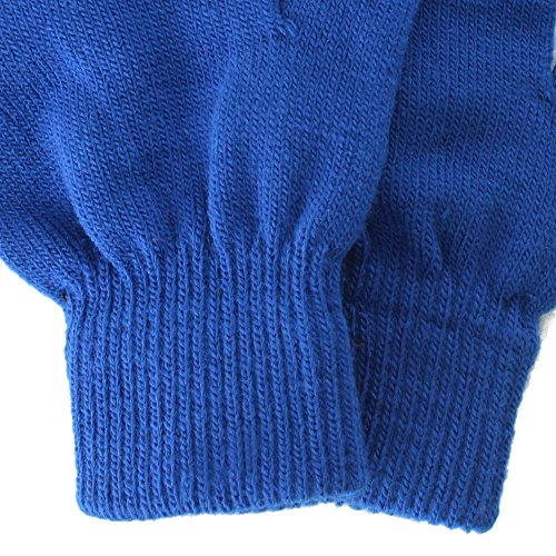 Simplicity Men / Women Winter Classic Solid Colored Knit Gloves