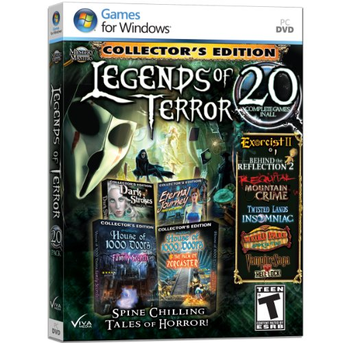 Mystery Masters: Legends of Terror - 20 Pack by Viva Media