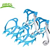 Anti-slip 14-Teeth Ice Snow Climbing Cleats Crampons Gripper For Boot Shoes