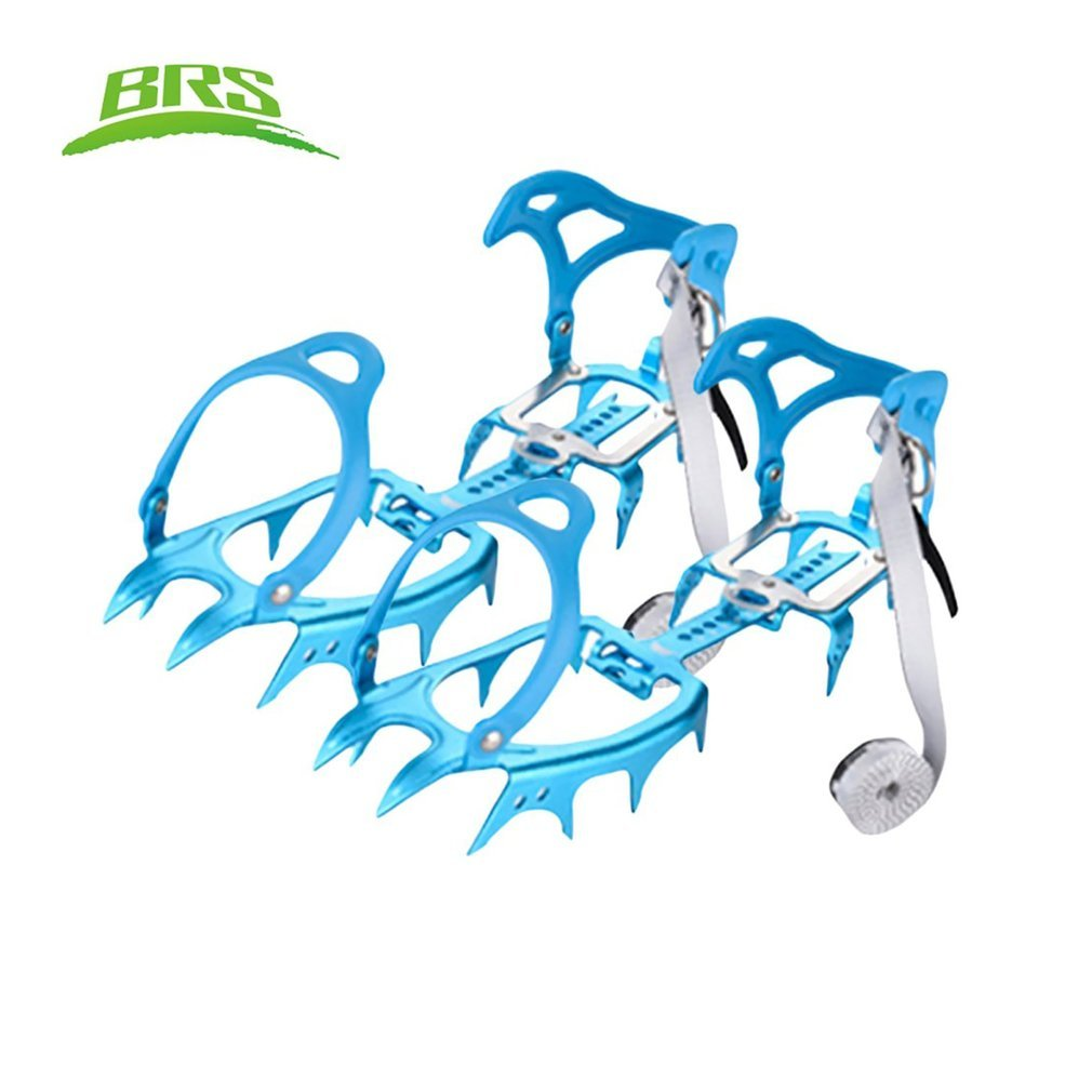 OUTAD Anti-slip 14-Teeth Ice Snow Climbing Cleats Crampons Gripper For Boot Shoes