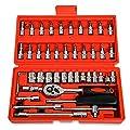 Replaitz Socket Ratchet Wrench Combination Tools Kit for Auto Repairing