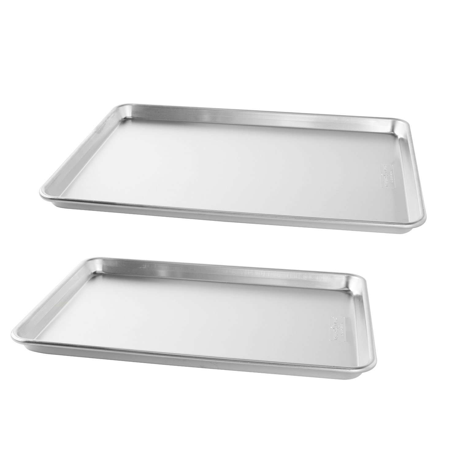 Nordic Ware Natural Aluminum Commercial Baker's Half Sheet and Big Sheet by Nordic Ware (Image #1)