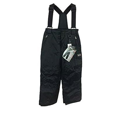 32 DEGREES Weatherproof Boys Zip Off Suspender Pant (S 7/8, Black)